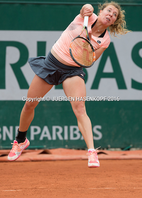 Anna-Lena Friedsam (GER)<br /> <br /> Tennis - French Open 2016 - Grand Slam ITF / ATP / WTA -  Roland Garros - Paris -  - France  - 24 May 2016.
