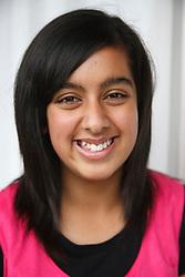 Portrait of asian teenager.
