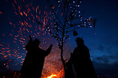 Wassailing at Kenninghall Wood