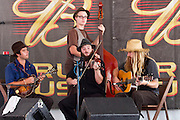 Hillbilly band at the 2011 Kentucky state fair. Kentucky, USA