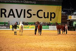 Präsentation Hengststation Sosath<br /> Oldenburg - AGRAVIS-Cup 2018<br /> Gala-Abend<br /> 03. November 2018<br /> © www.sportfotos-lafrentz.de/Stefan Lafrentz