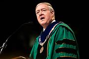 President Nellis speaks at Undergraduate Spring Commencement. Photo by Ben Siegel