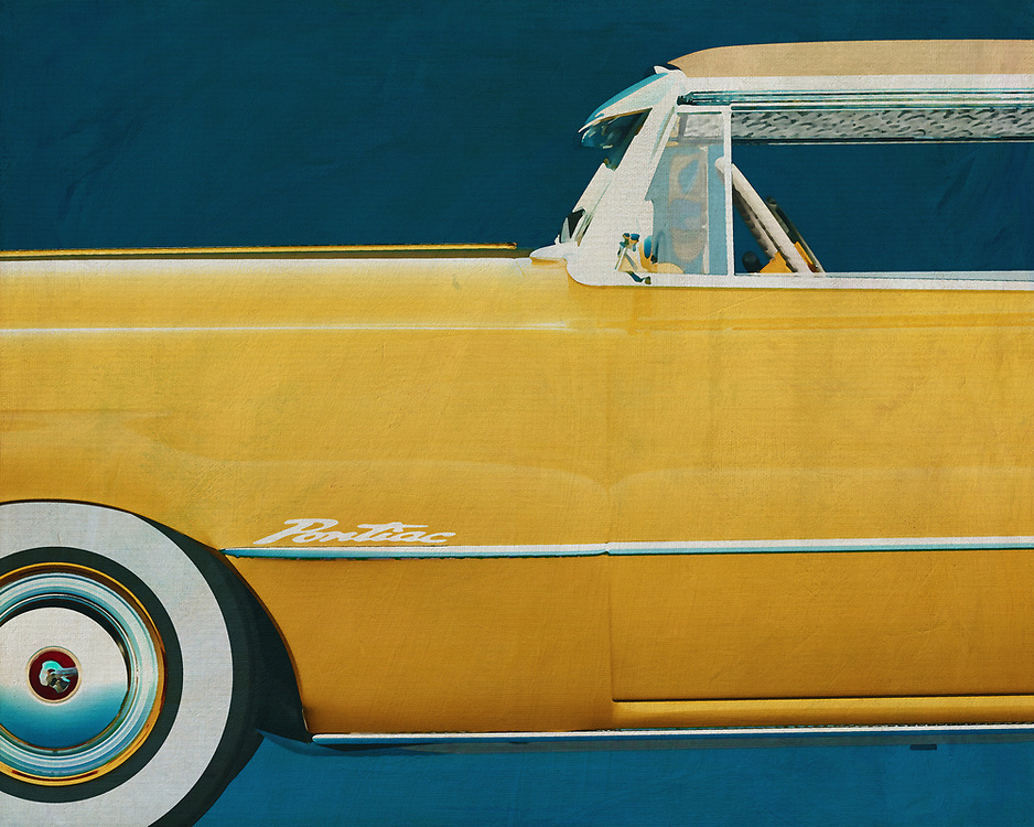 The Pontiac Chieftain is just about the most classic car that was driven around in the United States during the fifties of last eew. This painting of the side of the Pontiac gives by its simplicity and appearance a beautiful retro look. –<br /> <br /> <br /> BUY THIS PRINT AT<br /> <br /> FINE ART AMERICA<br /> ENGLISH<br /> https://janke.pixels.com/featured/pontiac-chieftain-hard-top-with-casket-jan-keteleer.html<br /> <br /> WADM / OH MY PRINTS<br /> DUTCH / FRENCH / GERMAN<br /> https://www.werkaandemuur.nl/nl/shopwerk/Pontiac-Chieftain-Hard-Top-met-kist/528893/132