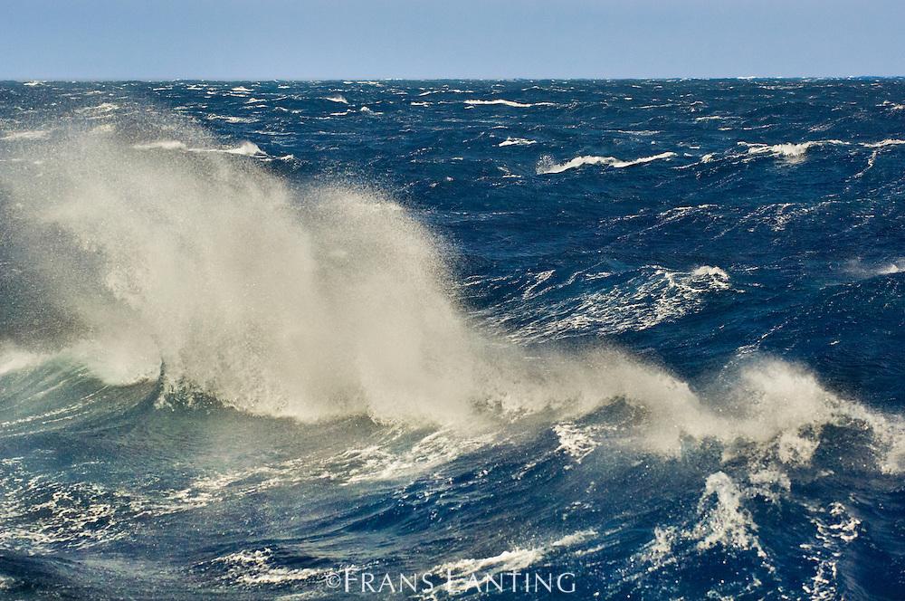 Stormy sea, Drake Passage, Antarctica