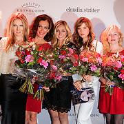 NLD/Amsterdam/20120911- Uitreiking Elegance Awards 2012, Anita Willemars ,Jessica Durlacher, Monic Hendrickx , Dominique van Hulst, Sylvia Hoeks en Sigrid ten Napel en Richard Kemper