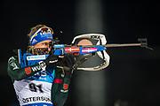 &Ouml;STERSUND, SVERIGE - 2017-12-03: Vanessa Hinz  under damernas jaktstart t&auml;vling under IBU World Cup Skidskytte p&aring; &Ouml;stersunds Skidstadion den 1 december 2017 i &Ouml;stersund, Sverige.<br /> Foto: Johan Axelsson/Ombrello<br /> ***BETALBILD***