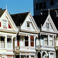 4 Victorians on Alamo Square