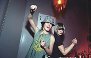 Female DJs Queens of Noize dancing, UK 2000's