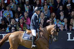 Bengtsson Rolf Goran (SWE) - Ninja La Silla<br /> FEI Nations Cup of Sweden - Falsterbo 2012<br /> © Hippo Foto - Beatrice Scudo