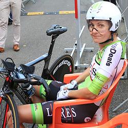 31-08-2017: Wielrennen: Boels Ladies Tour: Roosendaal: Daniela Reis