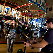 &quot; VicTORIous&quot;  cast film  music video &quot;Beggin&quot;<br /> pictured: VICTORIA JUSTICE