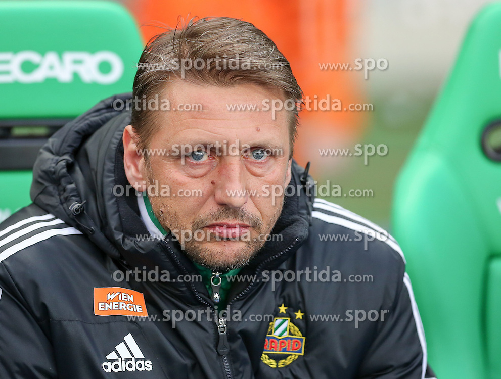 04.04.2015, Ernst Happel Stadion, Wien, AUT, 1. FBL, SK Rapid Wien vs RZ Pellets WAC, 27. Runde, im Bild Zoran Barisic (SK Rapid Wien) // during Austrian Football Bundesliga Match, 27th Round, between SK Rapid Vienna and RZ Pellets WAC at the Ernst Happel Stadion, Wien, Austria on 2015/04/04. EXPA Pictures © 2015, PhotoCredit: EXPA/ Alexander Forst