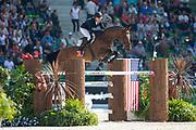 Valdemaras Zukauskas - Domien<br /> Alltech FEI World Equestrian Games™ 2014 - Normandy, France.<br /> © DigiShots