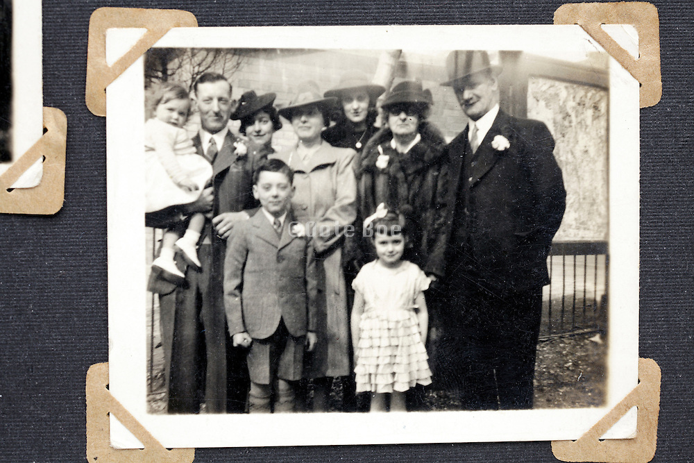 happy family moment vintage picture England
