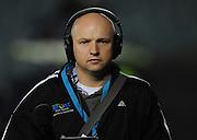 Radio Sport's Matt Brown. Investec Super Rugby - Blues v Stormers, Eden Park, Auckland, New Zealand. Friday 20 May 2011. Photo: Andrew Cornaga / photosport.co.nz