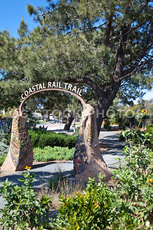 Coastal Rail Trail in Solana Beach California