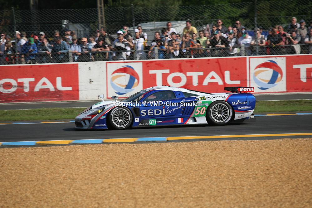 #50 Saleen S7-R - Larbre Competition, Winner LMGT1 Le Mans 24H 2010