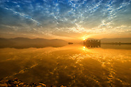 Sunrise at Jal Mahal of Jaipur