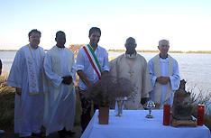 20130903 COMACCHIO MESSA CON SINDACO FABBRI