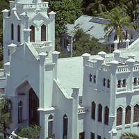Old St Paul's church in Key West Florida