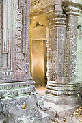 Golden doorway, Ta Phrom