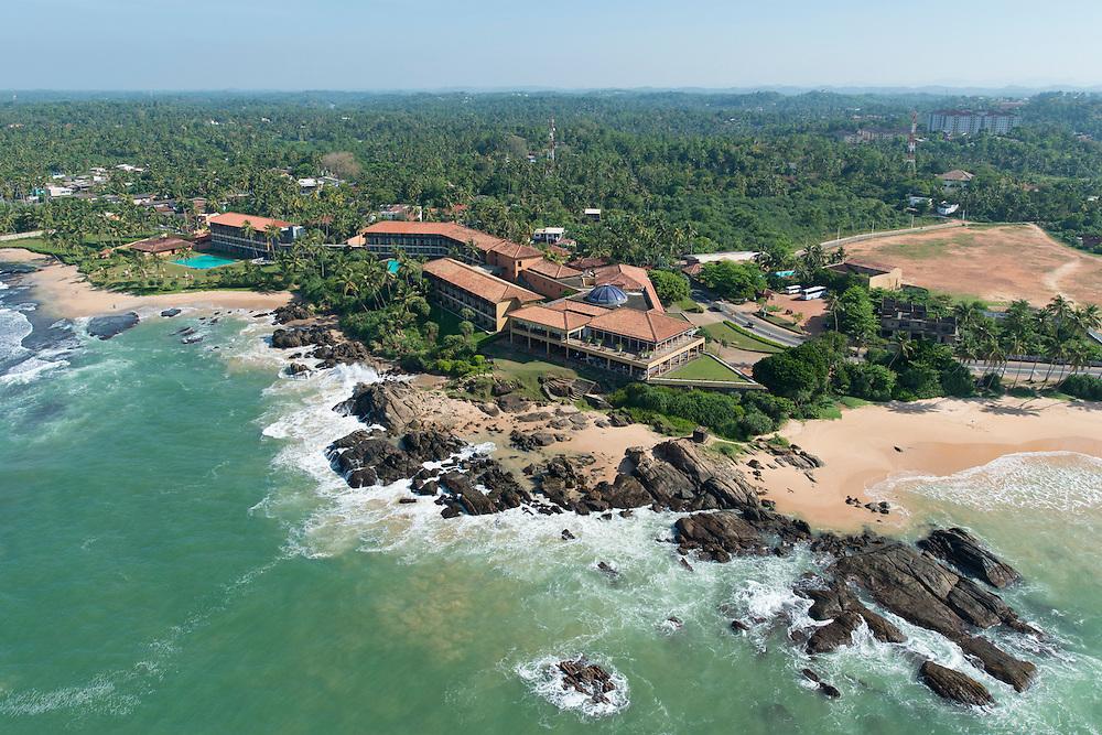 The Lighthouse Hotel<br /> The South Coast, Galle, Sri Lanka <br /> 1995&mdash;1997<br /> Geoffrey Bawa