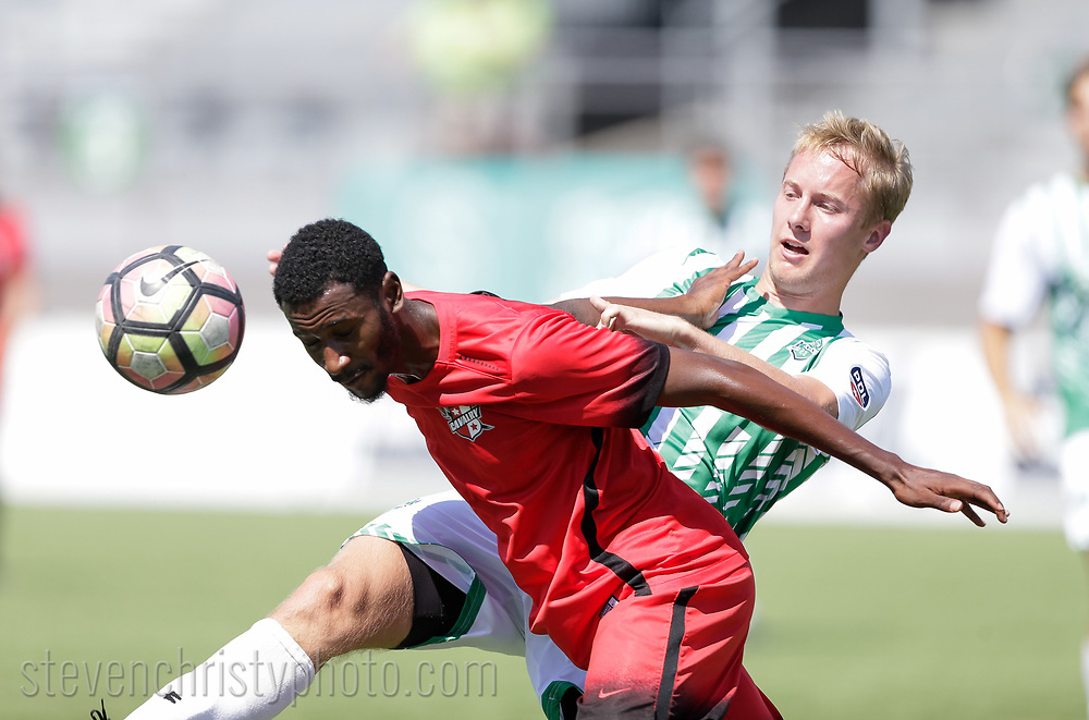 June 10, 2017: OKC Energy FC U23 plays the Brazos Valley Cavalry FC in a USL PDL game at Taft Stadium in Oklahoma City, Oklahoma.