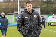 Eastleigh manager Chris Todd  during the Vanarama National League match between Forest Green Rovers and Eastleigh at the New Lawn, Forest Green, United Kingdom on 20 February 2016. Photo by Shane Healey.