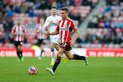 Emanuele Giaccherini of Sunderland in action - Photo mandatory by-line: Rogan Thomson/JMP - 07966 386802 - 04/01/2015 - SPORT - FOOTBALL - Sunderland, England - Stadium of Light - Sunderland v Leeds United - FA Cup Third Round Proper.