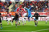 Tromsø 20120823 EUROPA LEAGUE. Tromsø IL - Partizan Beograd, Alfheim Stadion, Tromsø.<br /> <br /> Mika Koppinen scorer 2-0