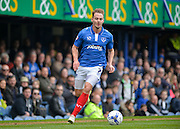 Portsmouth striker Adam McGurk during the Sky Bet League 2 match between Portsmouth and Carlisle United at Fratton Park, Portsmouth, England on 2 April 2016. Photo by Adam Rivers.