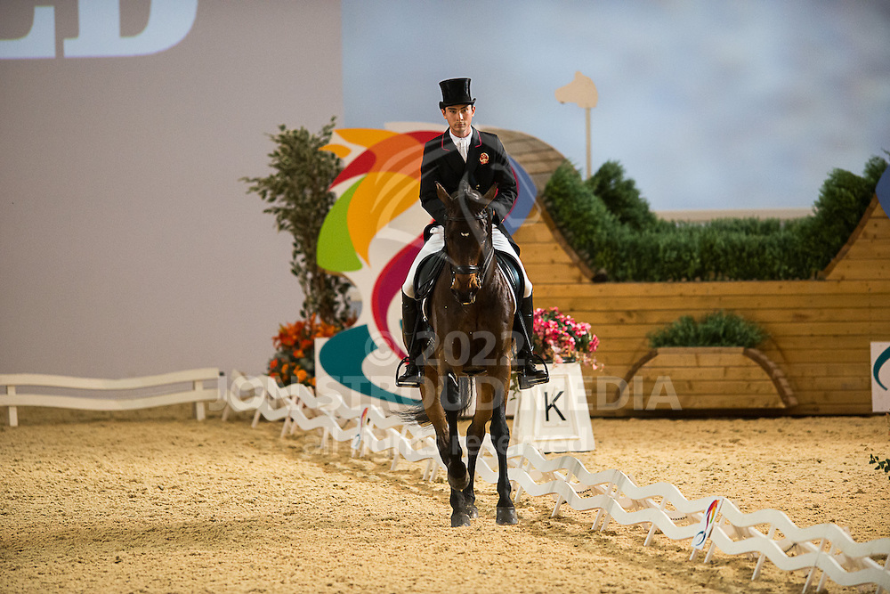 Alex Hua Tian (CHN) & Royaldik - Dressage - Express Eventing - Horse World Live - ExCel London - 17 November 2012