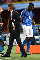 Roberto Mancini, Italy coach, Mario Balotelli.<br /> Bologna 07-09-2018 <br /> Football Calcio Uefa Nations League <br /> Italia - Polonia / Italy - Poland <br /> Foto Andrea Staccioli / Insidefoto