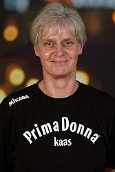 14-10-2019 NED: Portraits Prima Donna Kaas Huizen women, Huizen<br /> Photoshoot PDK Huizen / Ass. Coach Gerry Smit-de Vries of PDK Huizen