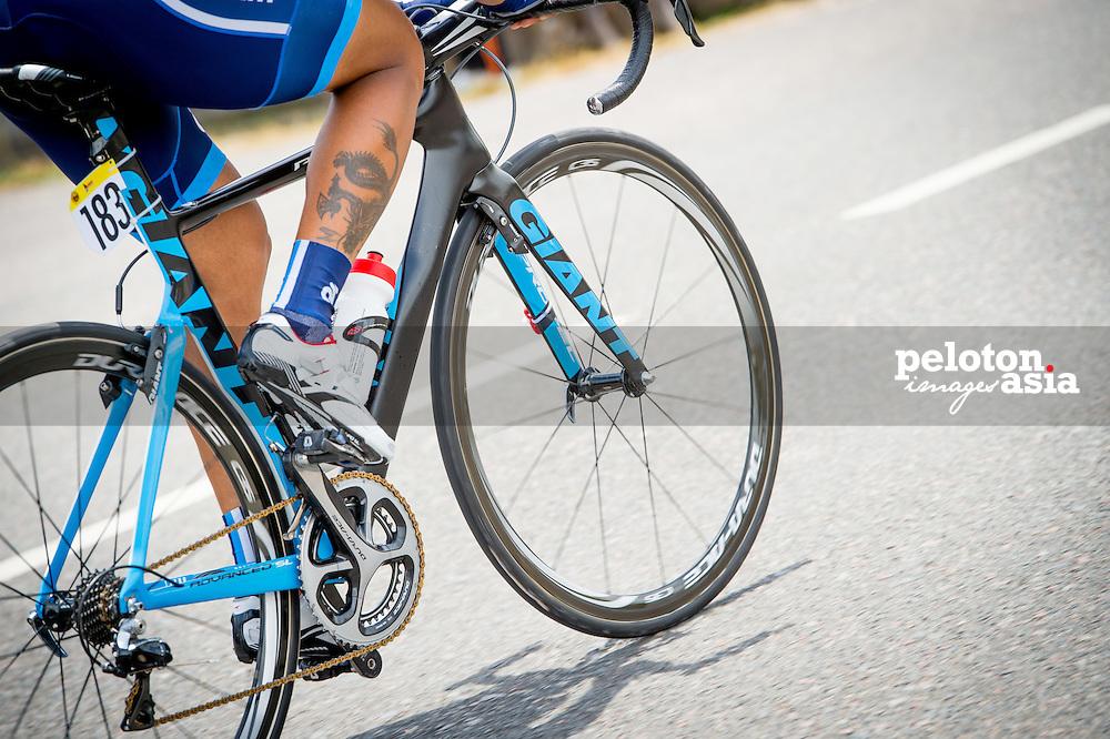Le Tour de Langkawi 2015/ Stage5/ Kuala Terengganu -Kuanta/ Bai,Li Jun/ Giant-Champion System