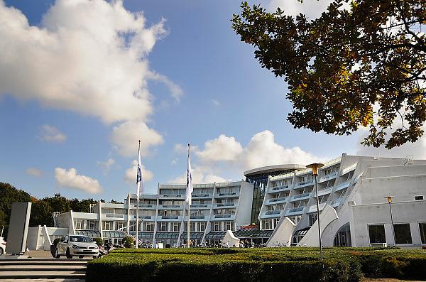 Nederland, Nijmegen, 9-10-2008Het Scandic hotel Sanadome. Warme thermaal water uit eigen bron en health en beauty behandelingen.Foto: Flip Franssen