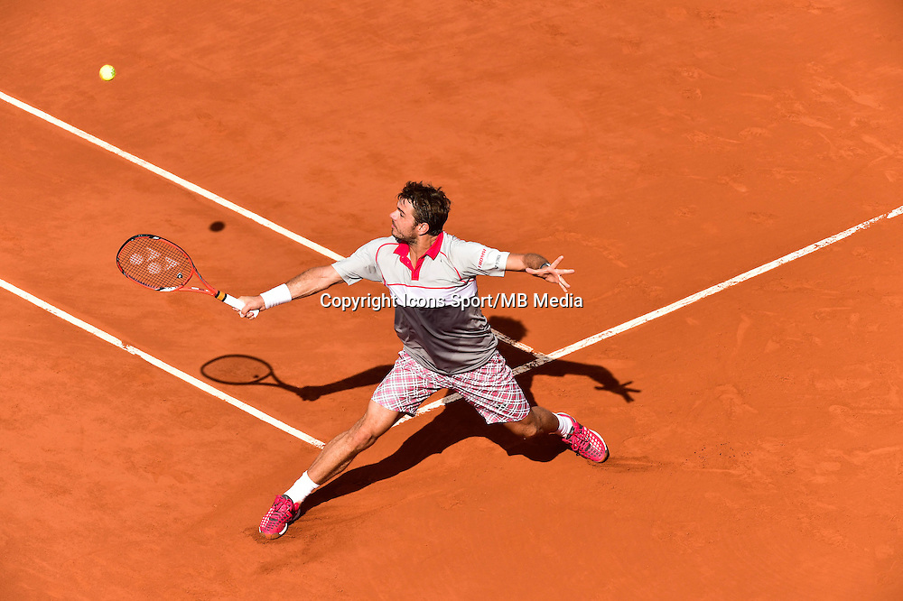STANISLAS  WAWRINKA - 02.06.2015 - Jour 10 - Roland Garros 2015<br />