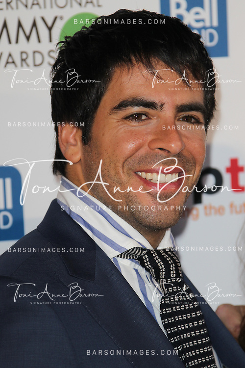 CANNES, FRANCE - APRIL 08:  Eli Roth arrives at the MIPTV 50th Anniversary : Opening Party at the Martinez Hotel on April 8, 2013 in Cannes, France.  (Photo by Tony Barson/Getty Images)