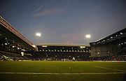 Sunset at The Hawthorns stadium, home of West Bromwich Albion