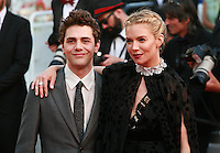 Actress Sienna Miller and Xavier Dolan at the gala screening for the film Carol at the 68th Cannes Film Festival, Sunday May 17th 2015, Cannes, France.