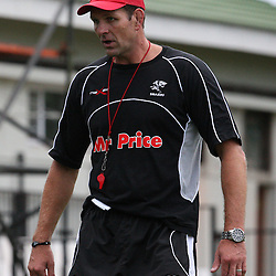 is pictured during the Sharks training session at the Absa Stadium on  Thursday 4th February  Durban, South Africa.. Photo by Steve Haag / Gallo Images