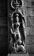 INDIA. Stone Sculpture. Mamallapuram<br /> It's known for its temples and monuments built by the Pallava dynasty in the 7th and 8th centuries. <br /> c.2000
