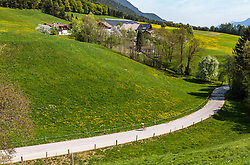 25.04.2018, Gnadenwald, AUT, ÖRV Trainingslager, UCI Straßenrad WM 2018, im Bild Michael Gogl (AUT) // during a Testdrive for the UCI Road World Championships in Gnadenwald, Austria on 2018/04/25. EXPA Pictures © 2018, PhotoCredit: EXPA/ JFK