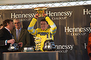 BARRY GERAGHTY;  Hennessy Gold Cup, The Racecourse Newbury. 30 November 2013.