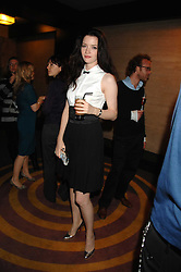 Actress TALULAH RILEY at a party to celebrate the launch of the new purple Sony Ericsson K770i phone held at the Bloomsbury Ballroom, Bloomsbury Square, London on 24th October 2007.<br />