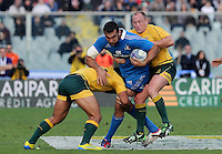 Florence, Italy -In the photo .Artemio Franchi stadium in Florence Rugby test match Cariparma.Italy vs Australia. (Credit Image: © Gilberto Carbonari).