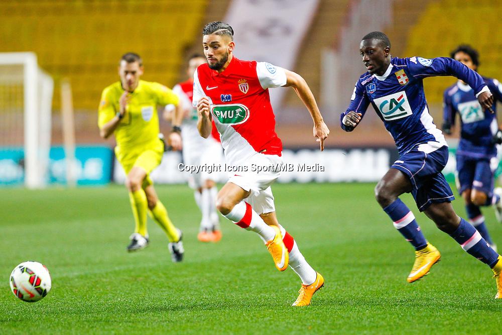 Yannick Ferreira Carrasco / Sabaly Youssouf  - 21.01.2015 - Monaco / Evian Thonon   - Coupe de France 2014/2015<br /> Photo : Sebastien Nogier / Icon Sport