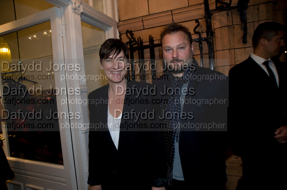 JUERGEN TELLER; SADIE COLES, The Launch of the Lanvin store on Mount St. Presentation and cocktails.  London. 26 March 2009