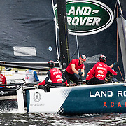 Now in its tenth season in 2016, the award-winning and adrenaline-fueled global Series has given the sport of sailing a healthy dusting-off. Bringing the action to the public with Stadium Sailing, putting guests at the heart of the battle and dramatically increasing the pace on the water, the creators of the Extreme Sailing Series™ have set new standards, both in terms of high level competition and sporting entertainment. With a new fleet of hydro-foiling GC32s replacing the Extreme 40 for the 2016 season the Extreme Sailing Series™ looks set to be another fast-paced and thrilling year.