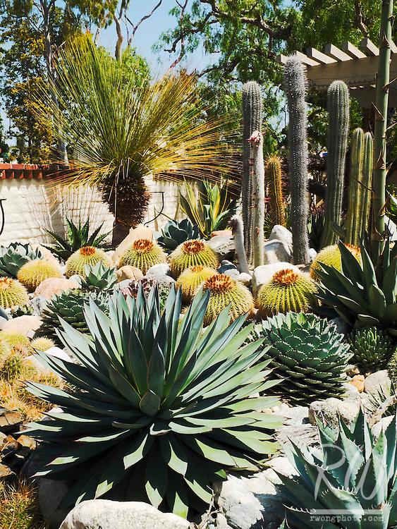 Desert Garden at Sherman Library & Gardens, Corona Del Mar, California
